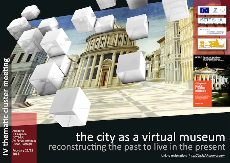 Poster -  The city as a virtual museum