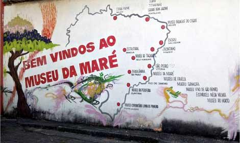 Mapa de Museus da Maré - Rio de Janeiro