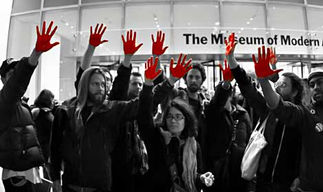 Occupy Museums - MoMA - New York
